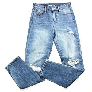 Old Navy | High Rise Power Straight Distressed